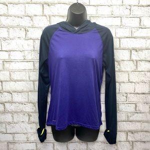Nike Dri Fit Purple Running Shirt Woman's Medium